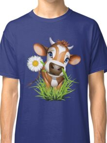 Cute cow has a gift for you Classic T-Shirt