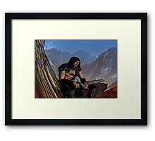 Lost Warrior Framed Print