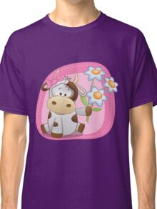 Lovely happy cow Classic T-Shirt