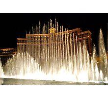 Bellagio Fountains - Las Vegas Photographic Print