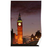 big ben long exposure Poster