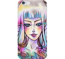 Color in your eyes iPhone Case/Skin