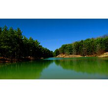 The old swimming hole Photographic Print