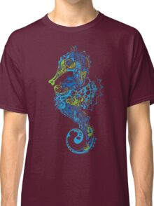 Beautiful blue seahorse Classic T-Shirt