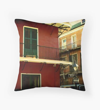 Rue Royale Throw Pillow