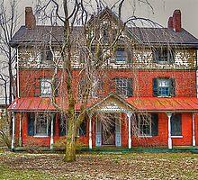 The Old Red House by Monte Morton