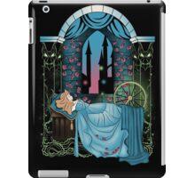 The Sleeping Rose - Blue Dress iPad Case/Skin