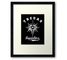 Dragon Age - Thedas Inquisitors Framed Print
