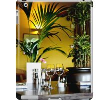 The table is set iPad Case/Skin