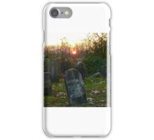 Pennsylvania cemetery at sunset iPhone Case/Skin