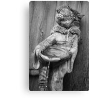 Peekaboo Kitty Canvas Print