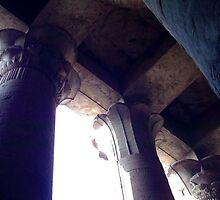 Edfu Temple - Egypt by watercolors1