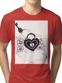 locked love Tri-blend T-Shirt