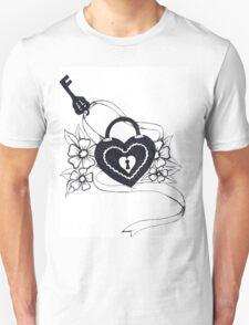 locked love Unisex T-Shirt