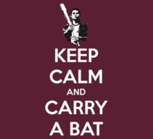 Keep Calm and Carry A Bat by jordams124