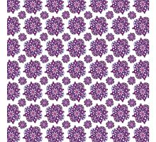 Large Purple Floral Duvet by xorbah
