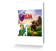 Legend of Zelda Ocarina of Time Greeting Card