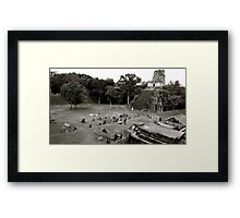 Grand Plaza & Temple II Framed Print