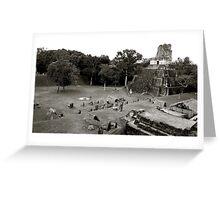 Grand Plaza & Temple II Greeting Card