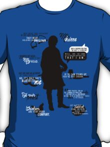 Outlander - Jamie Quotes T-Shirt