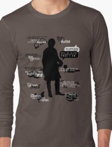 Outlander - Jamie Quotes Long Sleeve T-Shirt