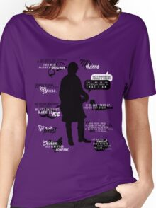 Outlander - Jamie Quotes Women's Relaxed Fit T-Shirt