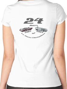 Porsche Le Mans Tribute Women's Fitted Scoop T-Shirt