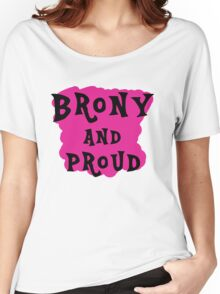 Brony and proud Women's Relaxed Fit T-Shirt