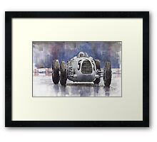 Auto Union Type C 1936 Framed Print