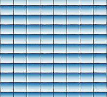 Blue to White Pattern by xorbah
