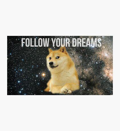 Doge Shibe Meme  Photographic Print