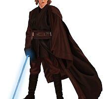 Anakin Skywalker by spectromagiic