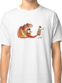 Dragon, tea & Saint George Classic T-Shirt