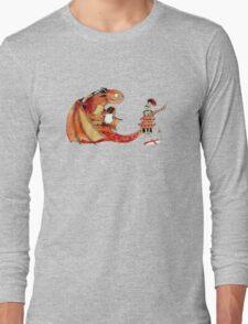 Dragon, tea & Saint George Long Sleeve T-Shirt