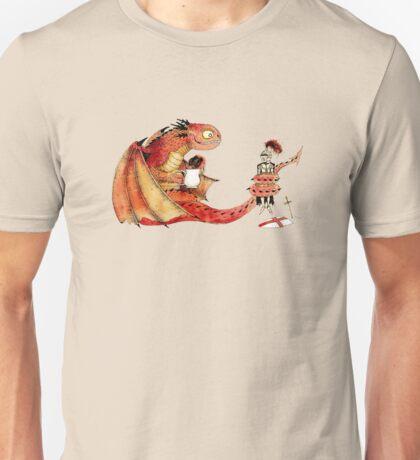 Dragon, tea & Saint George Unisex T-Shirt