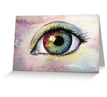 Eye abstract fantasy  Greeting Card