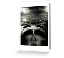 Foreboding Journey Greeting Card