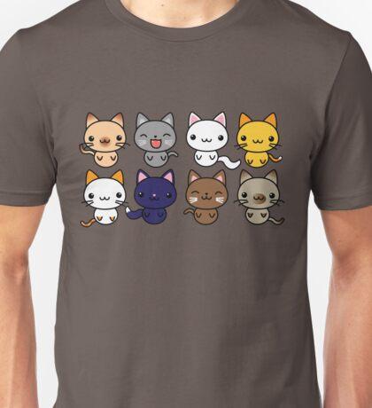 Cute Kitty Cats Unisex T-Shirt