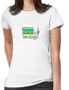 75% charged! Womens Fitted T-Shirt