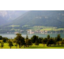 Wolfgang, Austria Photographic Print