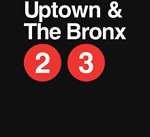 Uptown & The Bronx Womens Fitted T-Shirt