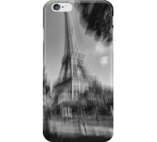 Gusty wind in paris iPhone Case/Skin