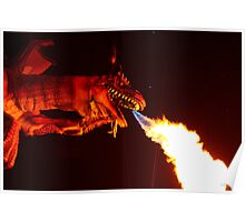 Dragons be Here!!!!! Poster