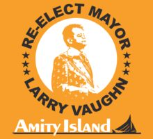 Re-Elect Mayor Larry Vaughn by Bobby Brill
