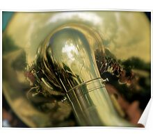 Tuba Reflections in Procession Poster