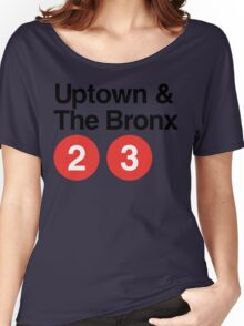 Uptown & The Bronx Women's Relaxed Fit T-Shirt