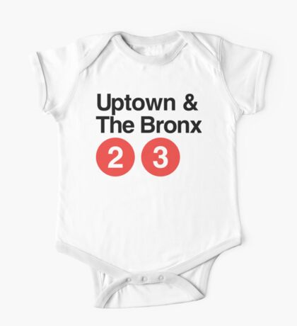 Uptown & The Bronx One Piece - Short Sleeve