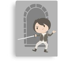 Arya Dancing Canvas Print