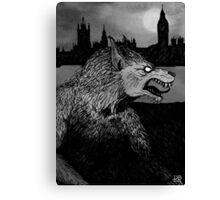 Werewolf in London Canvas Print