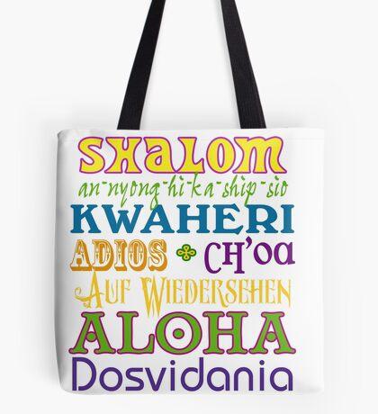 International Greetings! Tote Bag